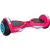 GoTrax Nova Full Size Led Self Balancing Hoverboard 6.5 in. Tire Pink